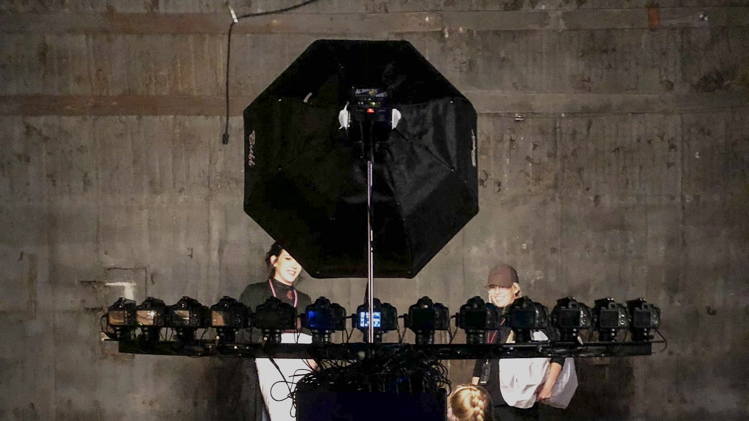 bullet time photography booth by Mammoth